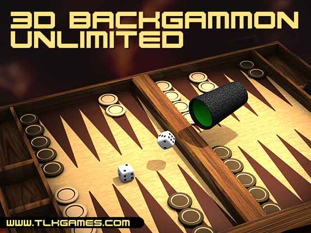 Click to view 3D Backgammon Unlimited 1.0 screenshot