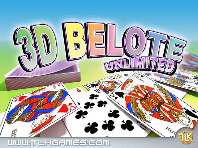 Click to view 3D Belote Unlimited 1.0 screenshot