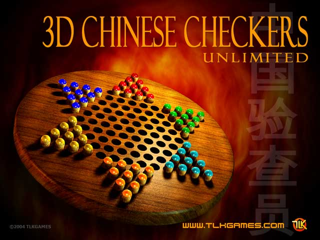 Click to view 3D Chinese Checkers Unlimited 1.0 screenshot