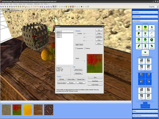 3D Mesh Blacksmith Screen shot