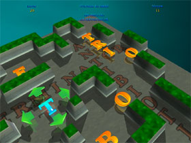 A full 3D attractive and colorful word puzzle game in three languages.