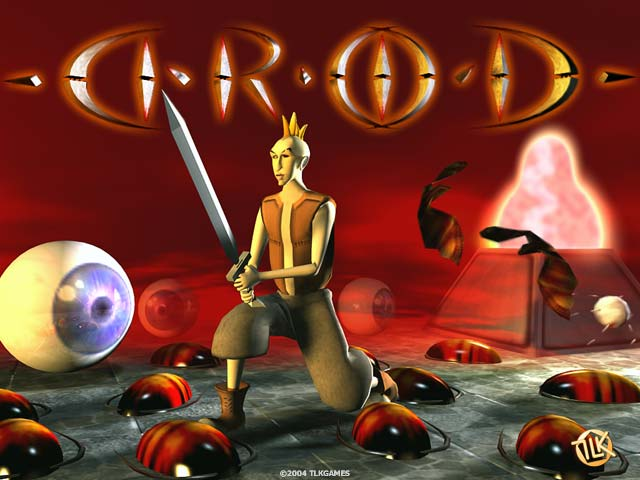 DROD 3D - drod, 3d, monsters, cockroach, goblin, serpent, snake, evil eye, mother cockroac - A hilarious dungeon game featuring a colorful hero and a host of monsters.