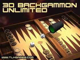 Screenshot of 3D Backgammon Unlimited