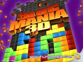 Captura de pantalla 3D Blocmania