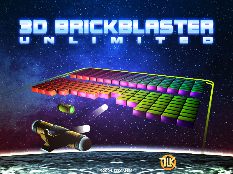 Click to view 3D BrickBlaster Unlimited 2.4 screenshot