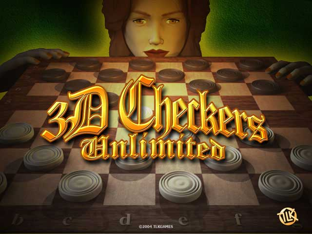 Click to view 3D Checkers Unlimited 2.4 screenshot