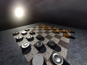 Capture d'écran de 3D Checkers Unlimited