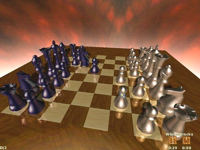 Click to view 3D Chess Unlimited 2.3 screenshot