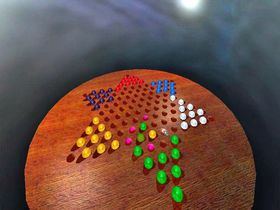 Captura de pantalla 3D Chinese Checkers Unlimited