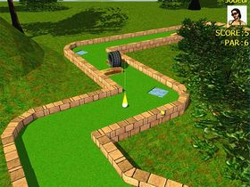 Capture d'écran de 3D MiniGolf Unlimited