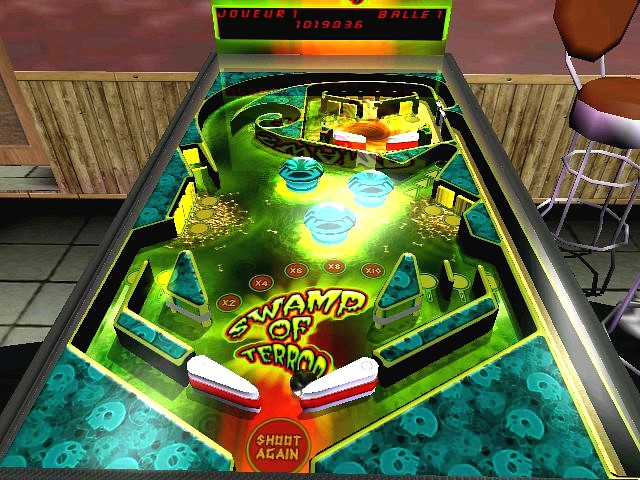 3D, Pinball, Unlimited, flippers, machine, games, arcade, action, 3DRT, ball, hot, bonus, table