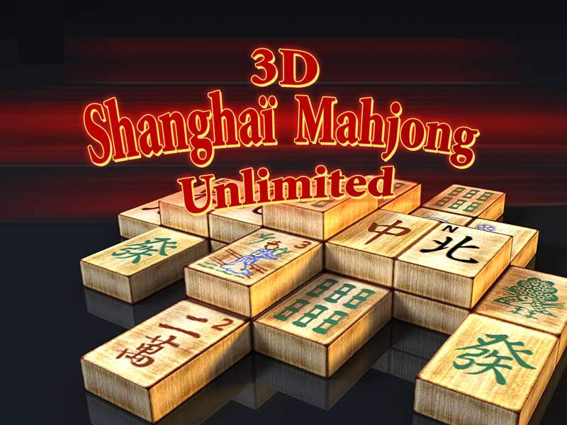 3D Shangai Mahjong Unlimited A challenging game of solitaire