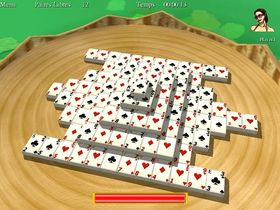 Captura de pantalla 3D Shangai Mahjong Unlimited