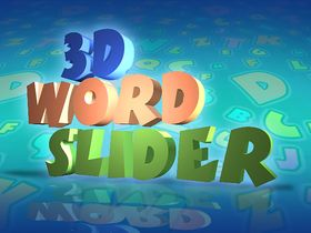Capture d'écran de 3D Word Slider