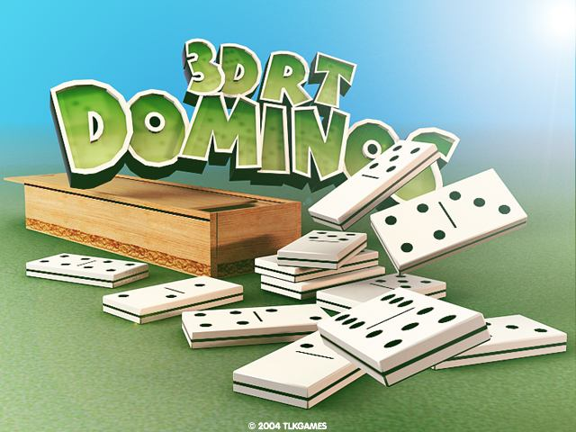 3DRT Dominos A classical 3D Dominoes game for two players