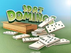Screenshot of 3DRT Dominos