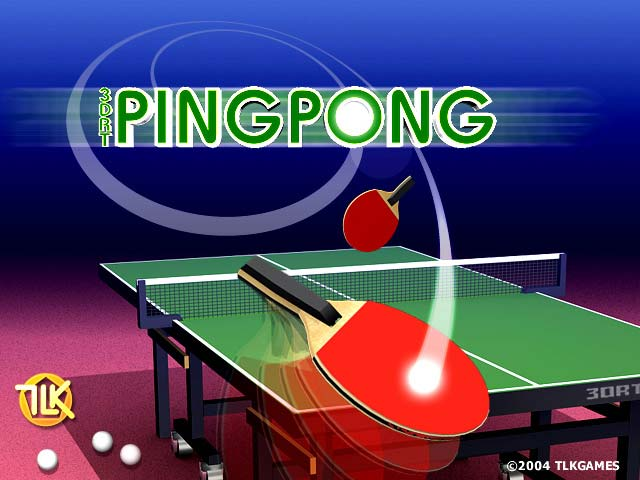 3drt pingpong a pc table tennis game intuitive and. Black Bedroom Furniture Sets. Home Design Ideas