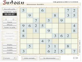 Screenshot of Sudoku Banzai