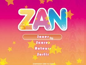 Screenshot of Zan